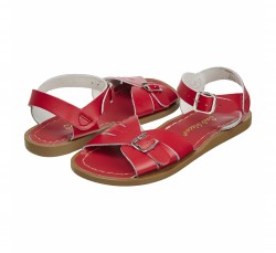 Salt-Water Classic sandal red barn-20