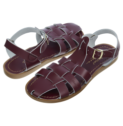 Salt-Water Shark sandal claret adult-20