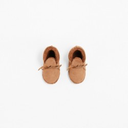 TOASTIES Booties baby camel-20