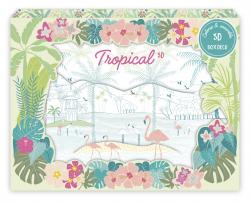 THALIE ET ORPHEE Tegnesæt Tropical 3D Box-20