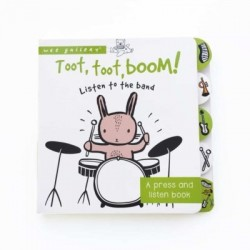 wee gallery Sound Book Toot, Toot, Boom! Listen to the band-20