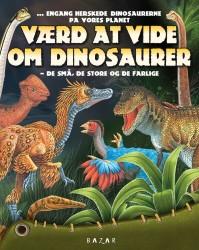Bazar Bogen Værd at vide om Dinosaurer-20