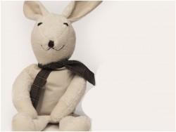 MinMin Copenhagen Bunny white wellness toy-20