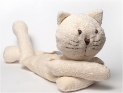 MinMin Copenhagen Cat white wellness toy-20