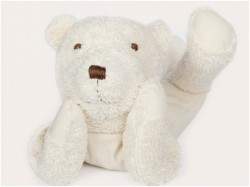 MinMin Copenhagen Teddy Bear white wellness toy-20