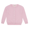 HOLMM COPENHAGEN Cardigan Molly 100% cashmere Blancmange soft pink-03
