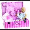 """Petitcollin Dukke Bibichou """"Lilly"""" in suitcase 35 cm-01"""