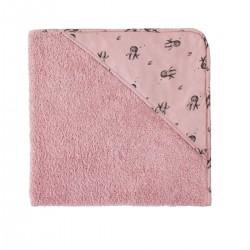 Rose in April Badelagen m/hætte Octopus dusty pink-20