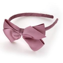 Verity Jones London Rosy Mauve alice hair band large-20