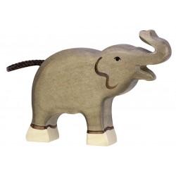 Holztiger Elefant unge-20