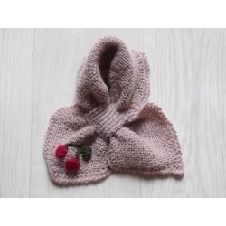 astas Cherry Fish scarf pink-20