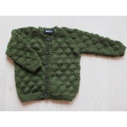 astas Clover cardigan autumn green-20