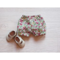 astas Dukketøj Bloomers liberty cream/flowers-20