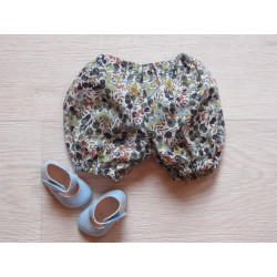 astas Dukketøj Bloomers liberty berry rust/blue-20