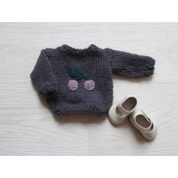astas Dukke Cherry Sweater plum-20
