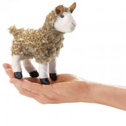 Folkmanis Fingerdukke Mini Alpaca-20
