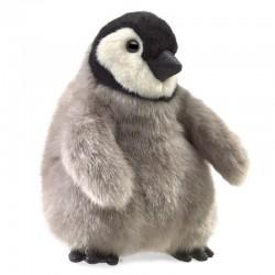 Folkmanis Hånddukke Baby Kejser Pingvin-20
