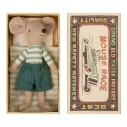 maileg Mouse Big Brother in box-20