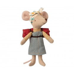 maileg Hiking Mouse Big sister-20