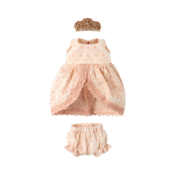 maileg Micro and Mouse Princess dress rose-20