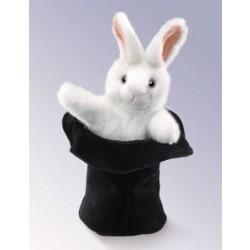 Folkmanis Kanin i Hatten hånddukke-20