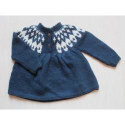 Shirley Bredal Icelandic sweater navy-20