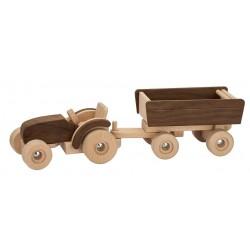 goki nature traktor med trailer-20